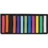 [Suchý pastel, 12 farieb]
