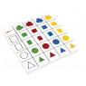 [Penové logické tabuľky - Farby a tvary 2]