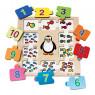 [Vkladacie puzzle - Počítajte s tučniakom]