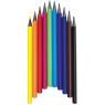 [Trojhranné bezdrevné ceruzky JUMBO, 12 farieb]