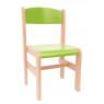 [Dřevěná židle Extra BUK zelená - 35 cm]