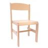 [Drevená stolička Extra BUK - prírodná - 38 cm]