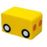 [Molitanový vagónik k autíčku, žltý]