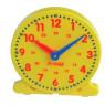 [Školské hodiny - žlté - Ø 14 cm]