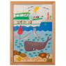 [Dřevěné puzzle - Nad a pod - V moři (28 dílků)]