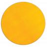 [Jednobarevný koberec průměr 1 m - Žlutý]