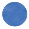 [Jednobarevný koberec průměr 1 m - Modrý]