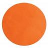 [Jednobarevný koberec průměr 1 m - Oranžový]