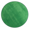 [Jednobarebný koberec průměr 1 m - Zelený]