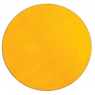 [Jednobarevný koberec Průměr 2 m - Žlutý]