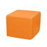 [Taburetka štvorec - oranžová 30cm]