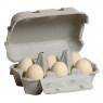 [Vajíčka v obale - biele]