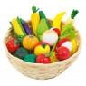 [Ovoce a zelenina v košíku]