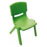 [Plastová stolička - výška 26 cm - zelená]