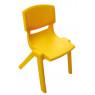 [Stolička plast. 26 cm žltá]