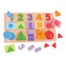 [Vkladací puzzle - Čísla, barvy, tvary]
