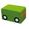 [Molitanový vagónek k autíčku, zelený]