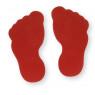 [Červená stopa sada 2 ks]