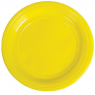 [Plastové talíře - žluté - 10 ks]