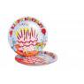 [Papírové talíře - narozeniny - 10 ks]