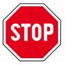 [Vestička se značkou - Stop!]