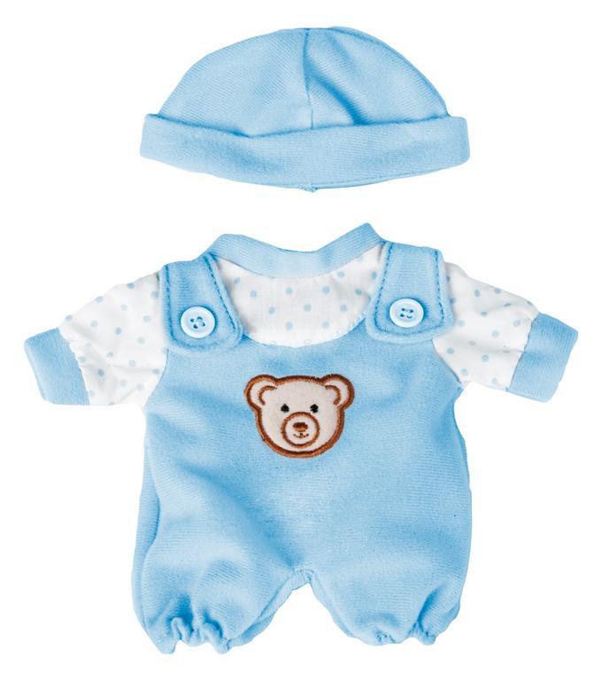 55b610ea7 Oblečenie pre bábiky - 21 cm - Modré dupačky s čiapkou | Nomiland.sk ...