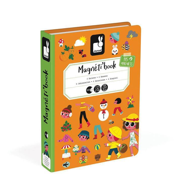 25c9fdf9c4e5 Magnetická kniha - Ročné obdobia