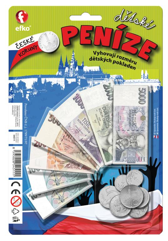 Goki Detsk Euro Peniaze