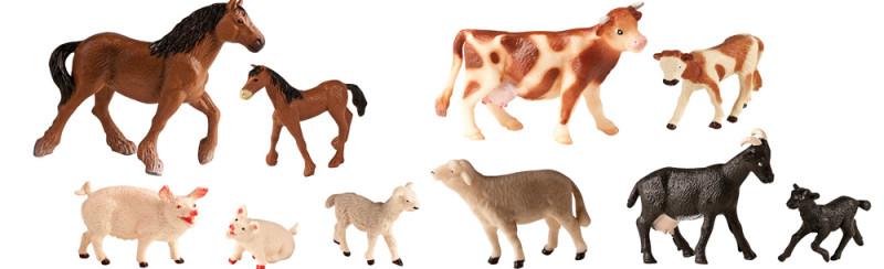 Výsledek obrázku pro zvířátka a jejich mláďata