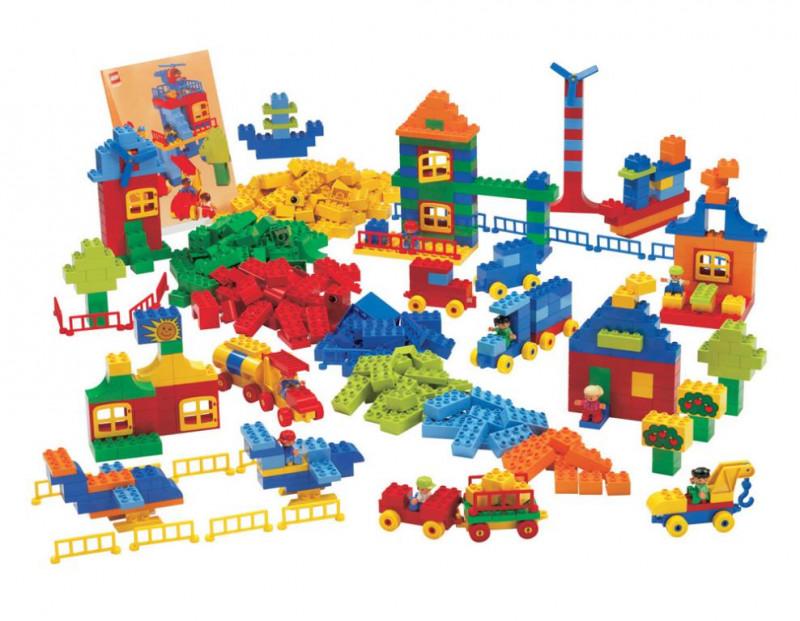 Lego Duplo Mix Klocków Xl 550 Szt Wwwedufitpl Artykuły