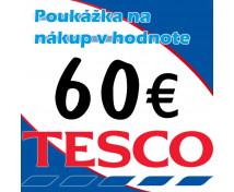 [TESCO poukážka 60 eur]