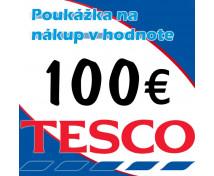 [TESCO poukážka 100 eur]