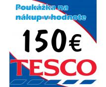 [TESCO poukážka 150 eur]