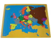 [Puzzle - mapa Európy]