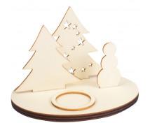 [Dekorácia - Vianočný svietnik]
