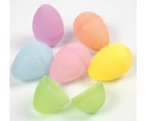 [Farebné plastové vajíčka, 12 ks]