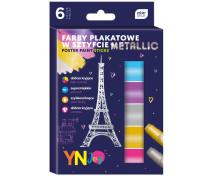 [Temperové farby v ceruzke, metalické, 6 farieb]