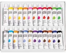 [Akrylové barvy v tubě, 24 barev]