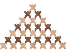 [Nature drevené panáčiky X, 48 ks]