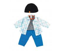 [Oblečení pro panenky - 38 cm - Modrá sada pro chlapce]