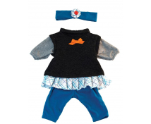 [Oblečenie pre bábiky - 38 cm - Modrá sada pre dievča]