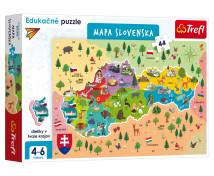 [Náučné puzzle - Mapa Slovenska]