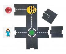 [Bee-bot stavebnica cesty]