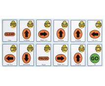 [Bee-Bot malé sekvenčné karty]