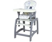 [Jedálenská stolička Baby Mix 2v1 Latte]