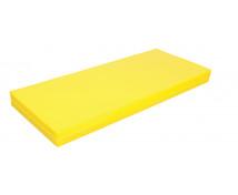 [Matrac - ležadlo - nepremokavé - žlté - 135 cm]
