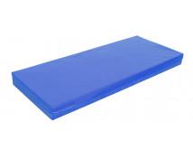 [Matrace - lehátko - nepromokavé - modré - 135 cm]