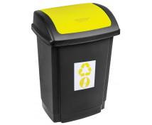 [Odpadkový kôš na triedenie - žltý]