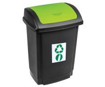 [Odpadkový kôš na triedenie - zelený]