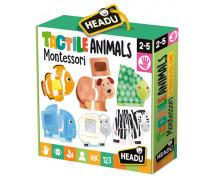 [Montessori - Hmatové puzzle Zvieratká]